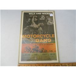 Motorcycles Gang Movie Poster