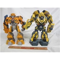 Lot of 2 Large Transformer toys