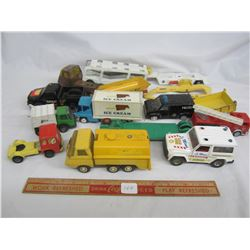 Lot of Toy Trucks