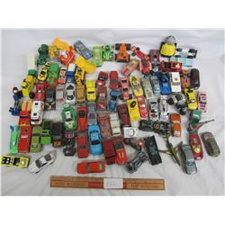 Large Lot of mixed toys Hotwheels, Matchbox ect.