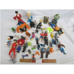 Large Lot of Action Figures Harry Potter Lord of the Rings ect.
