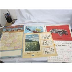 Lot of vintage Calendars and Posters