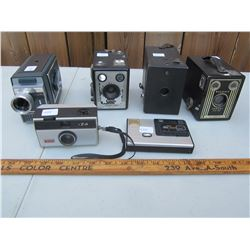 Lot of 6 Collector's Cameras