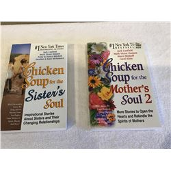 2 Chicken Soup books