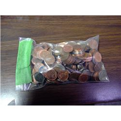 2lb bag of pennies