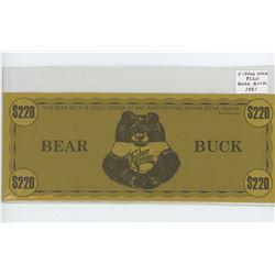 Huge Fisher Stove $220 Bear Buck 1981. AU.