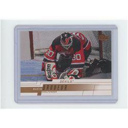 Martin Brodeur, goalie, New Jersey Devils, Upper Deck 2001 NHL Hockey Card. Gem Unc.
