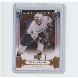 Teemu Selanne, RW, Anaheim Ducks, Upper Deck 2009 NHL Hockey Card. Gem Unc.