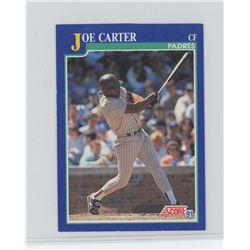 Joe Carter, CF, San Diego Padres, Score 1991 MLB Baseball Card. Gem Unc.