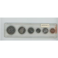 1977 6-coin regular Water Line Proof Like set in Whitman hard plastic holder.