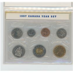 1997 7-coin Canadian Birth Year Coin Set.