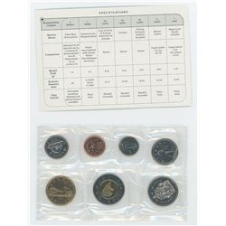 1999 7-coin regular Proof Like set.