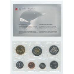 2000W 7-coin regular Proof Like set.