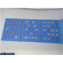 Lot of 26 different U.S. Buffalo nickels 1915 – 1937D. Housed in a blue Whitman folder. Coins grade