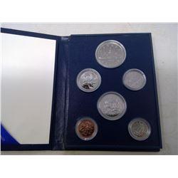 1985 6-coin Specimen set in case of issue.