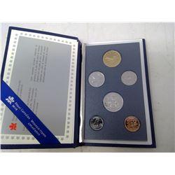 1989 6-coin Specimen set in case of issue.