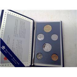 1990 6-coin Specimen set in case of issue.