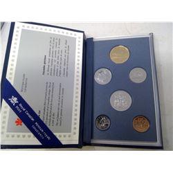 1993 6-coin Specimen set in case of issue.