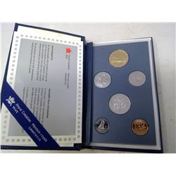 1994 6-coin Specimen set in case of issue.