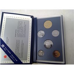 1995 6-coin Specimen set in case of issue.