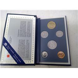 1996 6-coin Specimen set in case of issue.