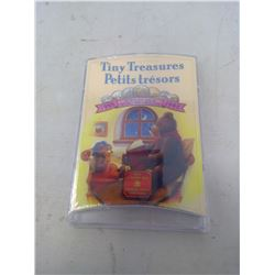 1998W 7-coin Tiny Treasures in case of issue. All coins from the Winnipeg Mint.