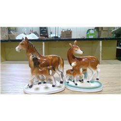 HORSE & DEER ORNAMENTS