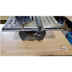 TECOMASTER TABLE SAW W/ MOTOR