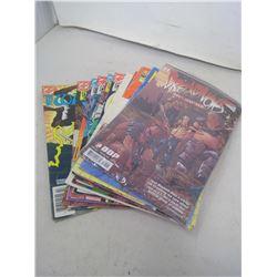 11 COMIC BOOKS