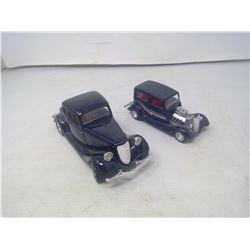 2 BLACK FORD MODELS