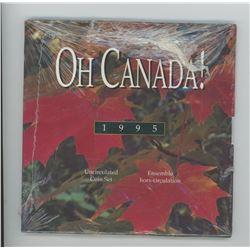"1995 ""OH CANADA"" uncirculated set"
