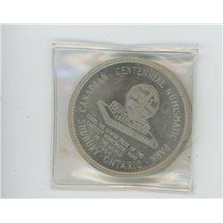 1964 Canadian Centennial Numismatic Park Coin (Sudbury, ON)
