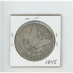 1895 US Morgan Dollar (Cannot determine authenticity. Bid accordingly.)