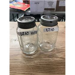 NABOB COFFEE JARS (2)