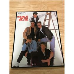 "NEW KIDS ON THE BLOCK POSTER ABOUT 16"" X 20"""