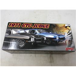 VINTAGE 1971 GTO JUDGE COLLECTABLE CAR