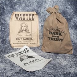 Bad Girls - Wanted Posters and Bank Bag – A323