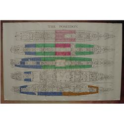 Beyond the Poseidon Adventure - Deck Plan Map – A367
