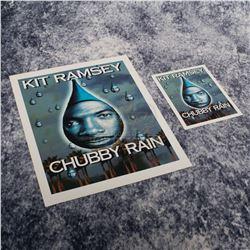 "Bowfinger – ""Chubby Rain"" Premiere Ticket & Credits Sheet – A402"