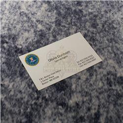 Fringe – Olivia Dunham's (Anna Torv) Business Card – A520