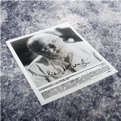 Jurassic Park - Richard Attenborough Autographed Press Photo – A353
