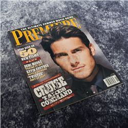 Mission: Impossible - Tom Cruise Autographed Magazine – A459