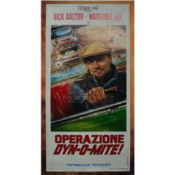 """Once Upon a Time... in Hollywood – """"Operazione Dyn-o-Mite!"""" Poster – 2345"""