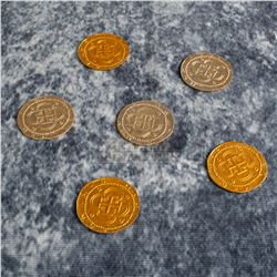 Pirates of the Caribbean: Curse of the Black Pearl - Pirate Coins - A489