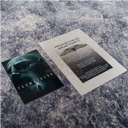 Prometheus – Wrap Party Invite & Cast & Crew Screening Ticket – A215