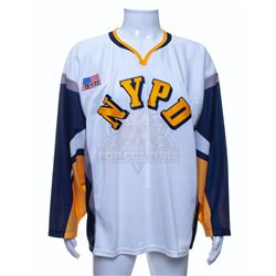 """Rescue Me (TV) – NYPD """"911"""" Hockey Jersey – A398"""