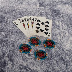 """Rush Hour 2 - """"Red Dragon"""" Playing Cards & Casino Chips – A395"""