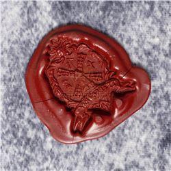 Sleepy Hollow – Prop Van Garret Wax Seal – A428