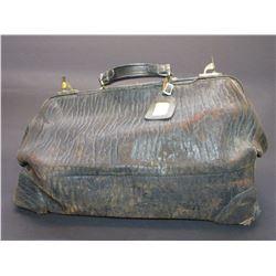 "Marked Walrus Warentied Dr Bag- Label Reads LF Vinal Missoula, Mont.- 11""H X 19""L X 10""W"