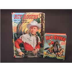 Roy Rogers Book And Red Ryder Book